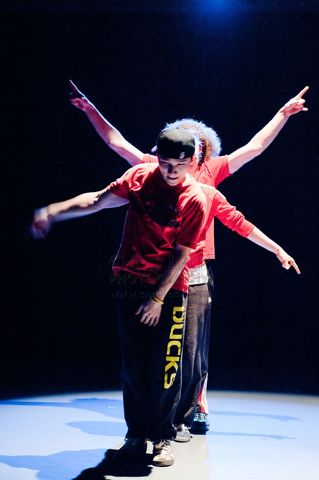 'Hippoh Hip Hop' choreographed and performed by Hippoh Project Dancers