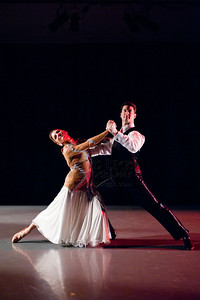 'International Waltz' performed by Ann Marie Hathaway and Aaron Cresssey. Choreography: Sunnie Page