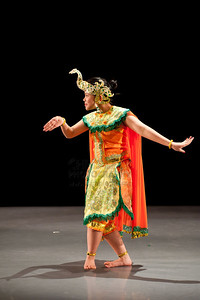 'Peacock Dance' choreographed and performed by Ditra Ambarini