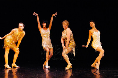 """And That's Show Biz"" performed by Leru Adams, Toni Anderson, Jehn Benson, and Connie Moore.   Dance Coalition of Oregon Blue Sky Concert, May 19, 2005."