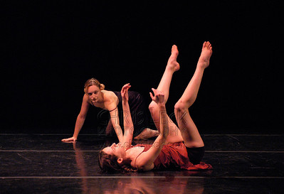 """Irene & Mathilde"" performed by Sonya Barker and Summer Morgan. Dance Coalition of Oregon Blue Sky Concert, May 20, 2005."