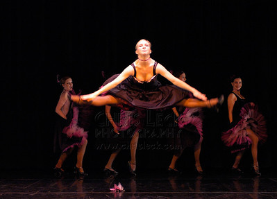 """""""Can Can"""" performed by The Dance Company. Dance Coalition of Oregon Blue Sky Concert, May 20, 2005."""
