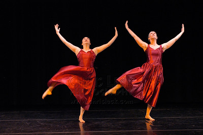 """""""Easter Oratorio -- Finale"""" performed by Diana Hinatsu, Brynna Hurwitz, Connie Moore, Kirsten Peterson, and Maranee Sanders. Dance Coalition of Oregon Blue Sky Concert, May 20, 2005."""