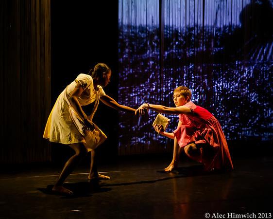 CANE, a dancework presented by SLIPPAGE and Wideman-Davis Dance<br /> <br /> Conception and direction: Thomas F. DeFrantz<br /> Choreography: Tanya Wideman-Davis and Thaddeus Davis<br /> Dancers: Tanya Wideman, Thaddeus Davis, Kalin Morrow, Amber Mayberry<br /> <br /> April 20-29, 2013<br /> Duke University<br /> Durham, NC