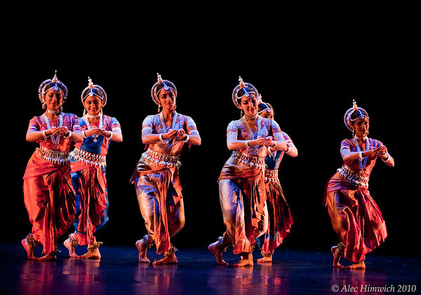 Mangalacharana and Shankarabharana Pallavi in Odissi dance<br /> Choreographed by 'Padma Vibhushana' Guru Kelucharana Mohapatra<br /> Group Composition staged by: Sujata Mohapatra<br /> <br /> Dancers: Sonia Bhandari, Ellora Dash, Archana Gowda, Athidi Guthikonda, Pavithra Kathanidhi, Meenal Misal, Anjana Mohanty, Menaka Nayar, Anandi Leela Salinas, Dhanya Sandeep, Purnima Shah and Ramya Sunderasan-Kapadia.<br /> <br /> November Dances Rehearsal<br /> Duke University<br /> November 19, 2010
