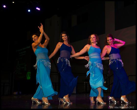 Lebanese Belly dancing<br /> <br /> Raleigh International Festival<br /> Raleigh, NC<br /> September 29, 2012
