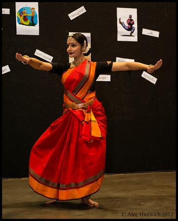 Ramya Sundaresan Kapadia<br /> <br /> Indian Dance Demonstration<br /> Raleigh International Festival<br /> Raleigh, NC<br /> September 29, 2012