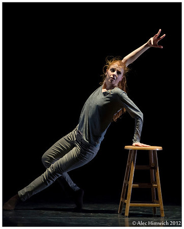 """Vanitas<br /> <br /> Choreographed and performed by Lynndsey Larre<br /> Music: Ólafur Arnalds, """"Undan Hulu""""<br /> <br /> Dress rehearsal<br /> 2012 November Dances<br /> Duke University Dance Program<br /> Durham, NC<br /> November 15, 2012<br /> Text: Francis Bacon, interviewed by David Sylvester (BBC Archive)<br /> """"All artists are vain, they long to be recognized and to leave something to<br /> posterity. They want to be loved, and at the same time they want to be free.<br /> But nobody is free."""" (Francis Bacon)<br /> """"And thou, wasted one, what wilt thou do? In vain shalt thou make thyself fair;<br /> thy lovers will despise thee, they will seek thy life."""" (Jeremiah 4:30)"""