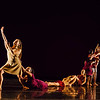 """Arc of Time<br /> <br /> Choreographed by Barbara Dickinson and the dancers<br /> <br /> Music: Selections from """"s_traits"""" composed by Bill Seaman and John Supko<br /> Danced by Gabrielle Cooper, Onastasia Ebright, Sierra Hodges, Megan Mauro, Ashlynn Miller, Riley Reardon, Anika Richter<br /> <br /> Arc of Time is inspired by Richard Serra's public artwork, """"Tilted Arc,"""" and by Caribbean philosopher Édouard Glissant who stated that solidarity does not mean an individual's difference or """"opacity"""" is erased. The title reflects the ebb and flow of power, and our consequent response for justice and morality in our world today.<br /> <br /> Choreolab 2018<br /> Duke Dance Program<br /> Reynolds Industry Theater<br /> Durham, NC<br /> April 12, 2018"""