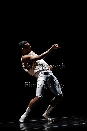 Baby Sweat<br /> <br /> Choreographed and Danced by Maurice Ivy Dowell<br /> <br /> Music: Edit/Composition by Maurice Ivy Dowell; Title - Untitled<br /> <br /> Artists - Gil Scott Heron & Jamie XX, I'm New Here; Jill Scott, Love<br /> Rain; Prince, 17 Days - Piano and Microphone Version 1983; Janis<br /> Joplin, Cry Baby<br /> <br /> A saturated exploration of memory through genre and emotion<br /> condensed in time and existing in abstracted location that is at once<br /> everywhere and nowhere at all. The delicacy of reality and fantasy<br /> realized: frustration and exaltation; the intimacies of life through love.<br /> <br /> 2018 November Dances<br /> November 15, 2018<br /> Duke University Dance Program<br /> Reynolds Industries Theater<br /> Durham, NC