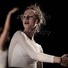 """Circadian Rhythms - Zeitgeber<br /> <br /> Choreographed by Julie Janus Walters with improvisational sections by<br /> the dancers<br /> <br /> Music: John Hanks<br /> <br /> Dancers: Natalie Ecanow, Lavonne Hoang, Sophia Jeffery, Julia Kemper, Kyra McDonald, Taylor Minich, SarahAnne Perel<br /> <br /> <br /> Zeitgeber or """"time-giver"""" offers a contemporary balletic movement language<br /> that suggests ways that outside stimuli affect us and in what manner we<br /> recalibrate our exquisitely designed internal biological clock.<br /> <br /> 2018 November Dances<br /> November 14, 2018 Tech Rehearsal<br /> Duke University Dance Program<br /> Reynolds Industries Theater<br /> Durham, NC"""