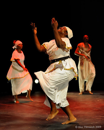 Photos from the African American Dance Ensemble's rehearsal for the 25th anniversary performance at the Carolina Theater in Durham, NC on October 2, 2009