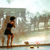 """Choreographer Andrea E. Woods performing """"*soft words: converations w/ john l. brace part III*"""" at Across the Threshold """"Movement, Memory, & Music: A Mosaic of Transcultural Performance.<br /> <br /> Duke University<br /> <br /> Durham, NC<br /> <br /> April 3, 2010"""