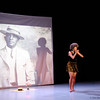 """Choreographer Andrea E. Woods performing """"*soft words w/ john l. brace part III*"""" at Across the Threshold """"Movement, Memory, & Music: A Mosaic of Transcultural Performance.<br /> Duke University<br /> Durham, NC<br /> April 3, 2010"""