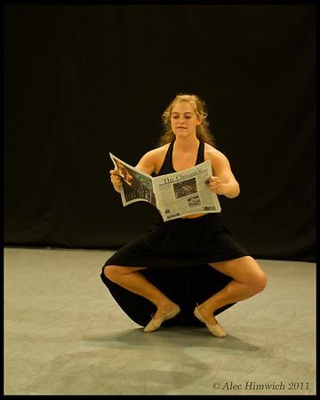 Ark Dances Rehearsal<br /> Duke University<br /> Durham, NC <br /> <br /> October 20, 2011<br /> 031