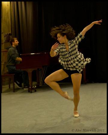 Ark Dances Rehearsal<br /> Duke University<br /> Durham, NC <br /> <br /> October 20, 2011<br /> 298