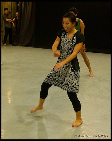 Ark Dances Rehearsal<br /> Duke University<br /> Durham, NC <br /> <br /> October 20, 2011<br /> 246