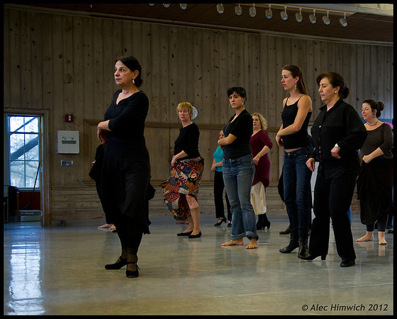Carlota Santana Master Class<br /> <br /> Duke Dance Program<br /> Durham, NC <br /> February 4, 2012