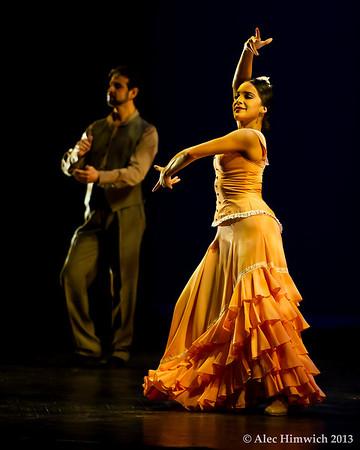 Dancers: Antonio Hidalgo, Leslie Roybal<br /> Flamenco Vivo <br /> <br /> Page Auditorium<br /> Duke University<br /> Durham, NC<br /> February 11, 2012<br /> 012