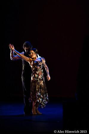 Dancers: Antonio Hidalgo, Leslie Roybal<br /> Flamenco Vivo <br /> <br /> Page Auditorium<br /> Duke University<br /> Durham, NC<br /> February 11, 2012<br /> 167
