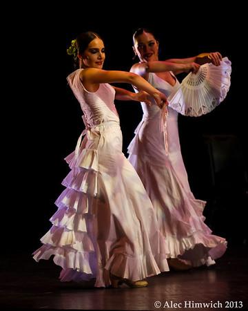 Dancers: Leslie Roybal, Julia Chacón<br /> Flamenco Vivo <br /> <br /> Page Auditorium<br /> Duke University<br /> Durham, NC<br /> February 11, 2012<br /> 209