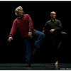 Prometheus <br /> Choreography: Amanda K. Miller<br /> Text and Blueprint: Sebastian Alexis, Amanda K. Miller, Robert Thurston-Lighty<br /> Music: Fred Frith<br /> Performers: Sebastian Alexis, Amanda K. Miller, Robert Thurston-Lighty<br /> March 13, 2012<br /> Duke University<br /> Durham, NC