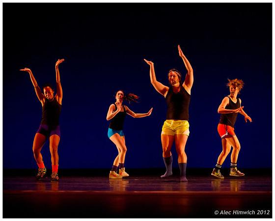 Beat (1985)<br /> Choreography: Mark Dendy<br /> Lighting Design: Jennifer Wood<br /> Costume Design: Mark Dendy<br /> Performers:  Ian Meeks, Nicolette Miller, Kristin Taylor, Leah Wilks