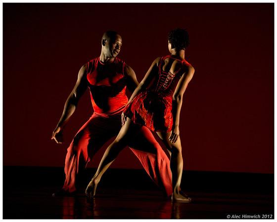 Magical Cusp (2010)<br /> Choreography: Gaspard Louis<br /> Music: Kronos Quartet<br /> Lighting Design: Jennifer Wood<br /> Costume Design: Melody Eggen<br /> Performers: Gaspard Louis, Kristin Taylor<br /> <br /> March 13, 2012<br /> Duke University<br /> Durham, NC<br /> 159