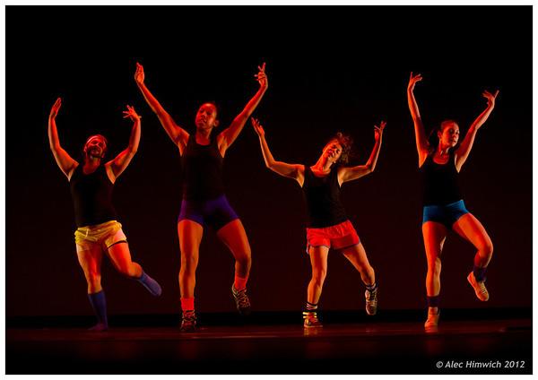 Beat (1985)<br /> Choreography: Mark Dendy<br /> Lighting Design: Jennifer Wood<br /> Costume Design: Mark Dendy<br /> Performers:  Ian Meeks, Nicolette Miller, Kristin Taylor, Leah Wilks<br /> <br /> March 13, 2012<br /> Duke University<br /> Durham, NC<br /> 096