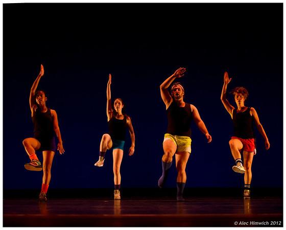 Beat (1985)<br /> Choreography: Mark Dendy<br /> Lighting Design: Jennifer Wood<br /> Costume Design: Mark Dendy<br /> Performers:  Ian Meeks, Nicolette Miller, Kristin Taylor, Leah Wilks<br /> <br /> March 13, 2012<br /> Duke University<br /> Durham, NC<br /> 099