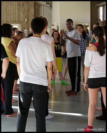 Jeffrey Page <br /> Master dance class<br /> Duke University<br /> <br /> January 27, 2012
