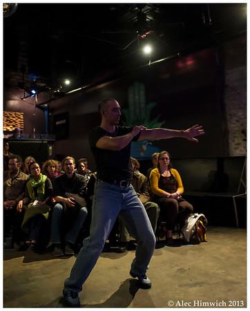 Diego Carrasco Shoch<br /> <br /> Professor Diablo's True Revue <br /> Casbah<br /> Durham, NC<br /> January 22, 2013