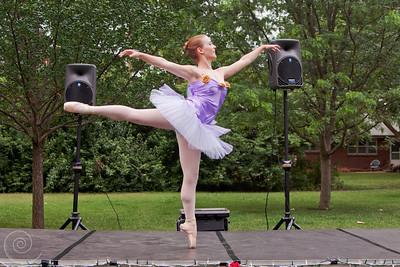 Kalina Bartlett as Lilac Fairy from Sleeping Beauty