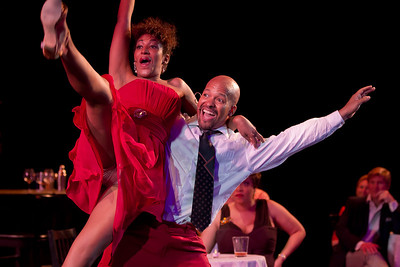 """Washington Savoyards  Ain't Misbehavin' based on the life of Thomas """"Fats"""" Waller. Lauren Du Pree and Daryl A. Stiers in photo."""