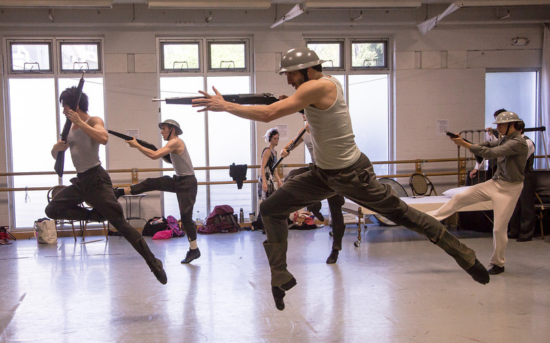 Washington Ballet rehearsal for Hemingway: The Sun Also Rises (May 2, 2013)