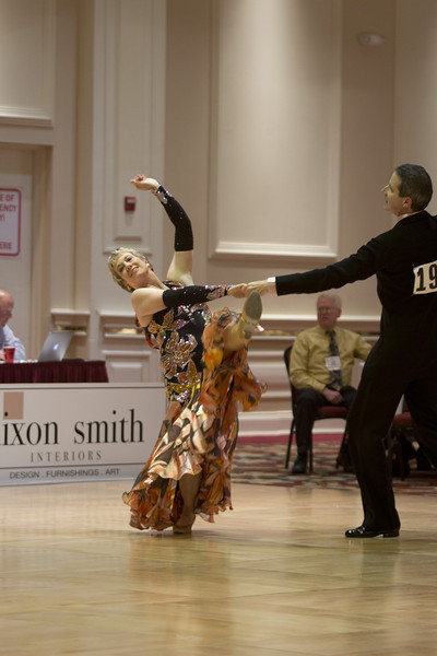 2012 Gumbo DanceSport Championships - 3rd in both Senior 3 Novice and Pre-Championship American Smooth