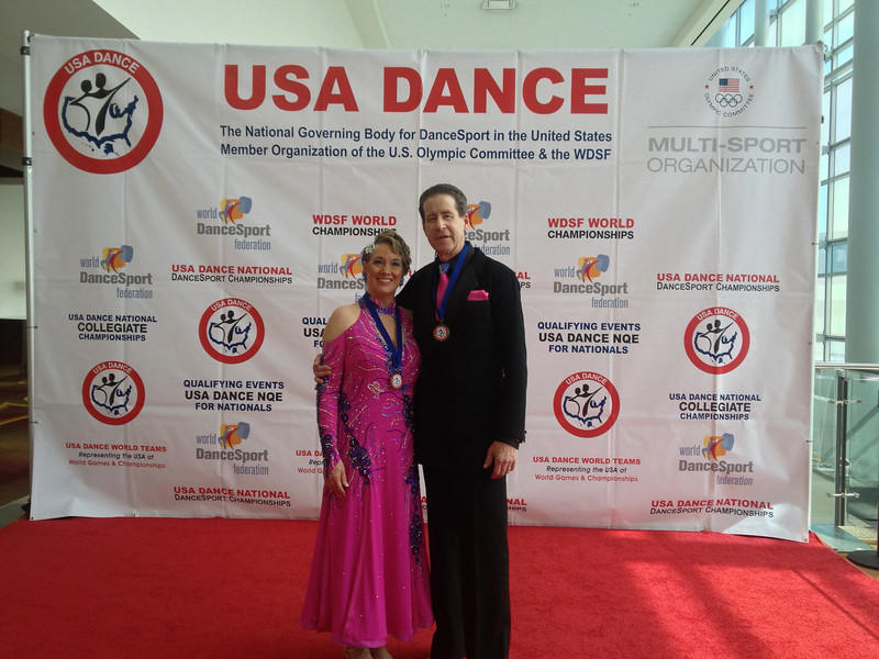 USA Dance National Championships 2013 - National Champions in American Smooth Senior 3 Novice (Open)
