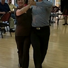 "Debbie coaching with Jonathan Roberts from ""Dancing With The Stars"""