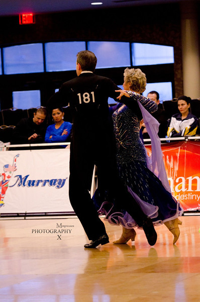 Derby DanceSport Championships 2012 - 2nd place in International Standard Senior 3 Novice (Open)