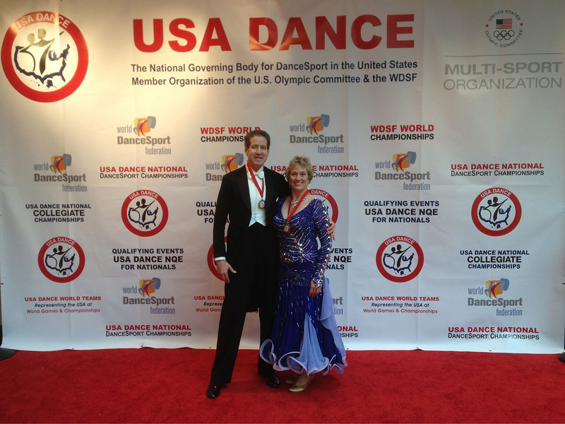 USA Dance National Championships 2012 - 2nd place in International Standard Senior 3 Novice (Open)