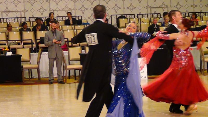 USA Dance National Championships 2013 - 4th in Standard Senior 3 Novice (Open)