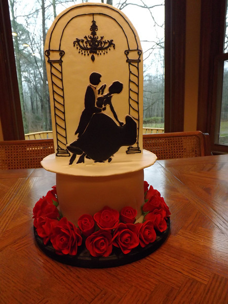Wedding Anniversary Custom Cake