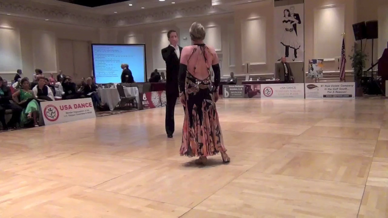 Gumbo DanceSport Championships 2013 - 3rd in Senior 3 PreChampionship Smooth and 4th in Senior 3 Championship Smooth