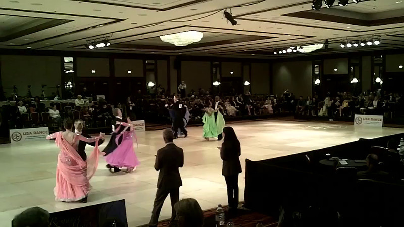 USA Dance Nationals 2012 - 2nd place in Senior 3 Standard Novice (Open)