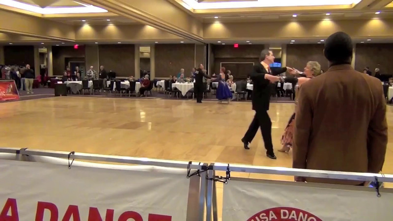 Derby Championships 2012 - 1st place in Senior 3 American Smooth Novice (Open)