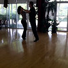 Bob practicing American Smooth Waltz with our Smooth coach, Alyssa Kark