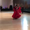 Dancing ProAm with Alyssa Kark, our coach