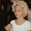 Nutcracker at the Fox - Julia having her Tree Angel Wig placed