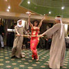Belly Dance - onboard a river boat on the River Nile, Cairo, Egypt