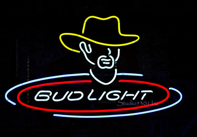 Bud sign cowboy hat 8495